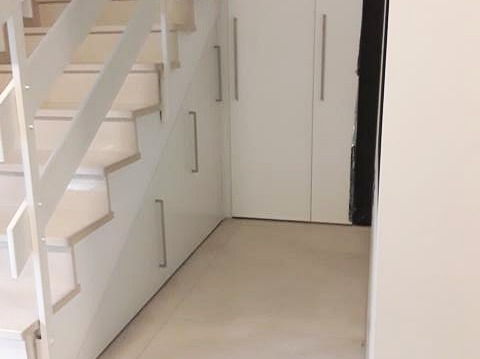 Bevorzugt Raum unter Treppe perfekt ausbauen, ZIEGLERdesign Massmoebelbau FN19
